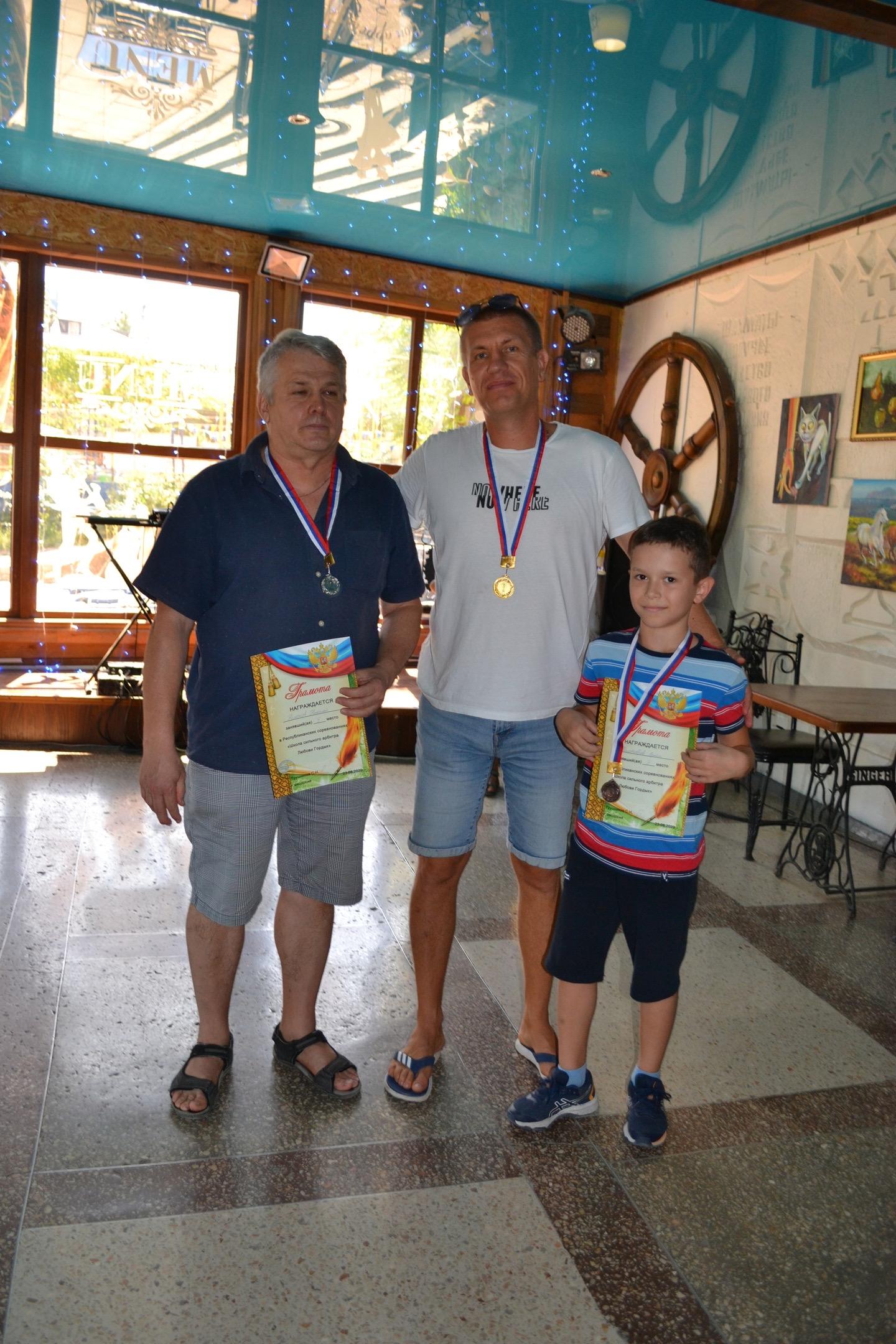 23 августа в Феодосии прошёл блиц турнир
